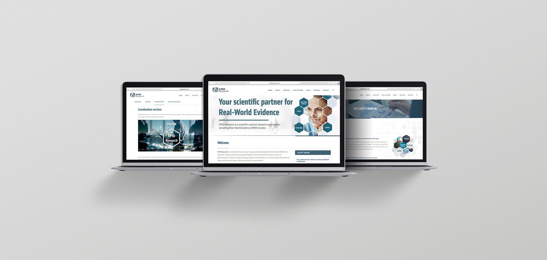 verkkosivujen suunnittelu