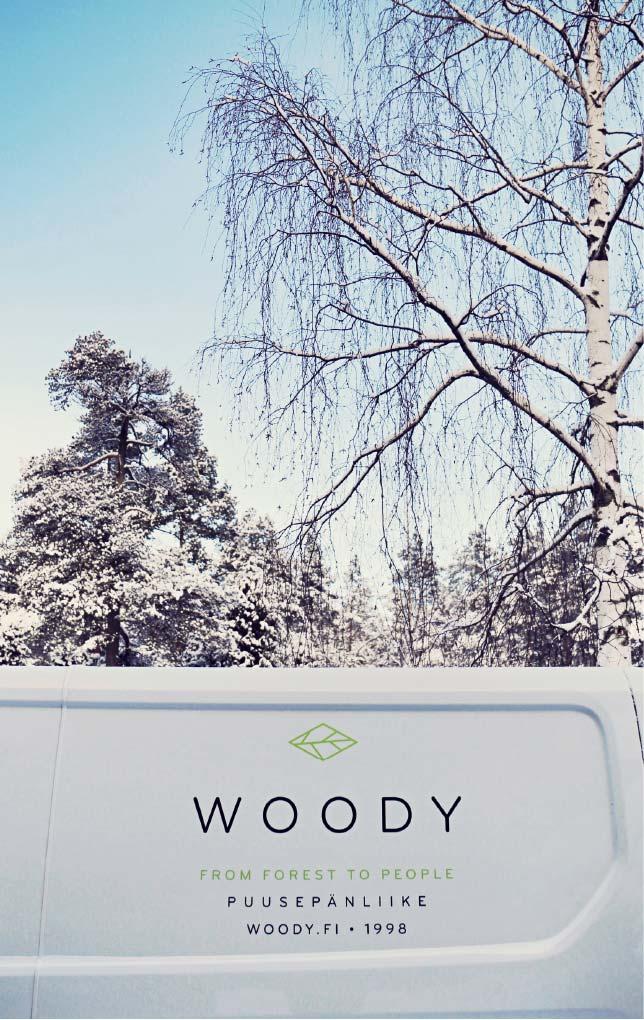 Woody logo käytössä