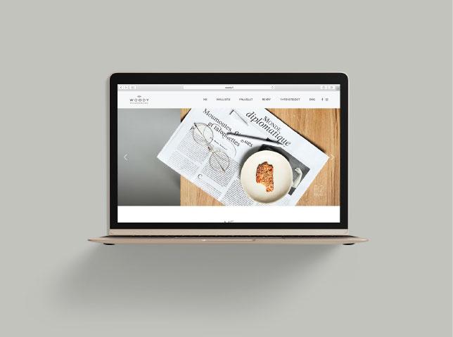 Suunnittelimme logon lisäksi verkkosivut