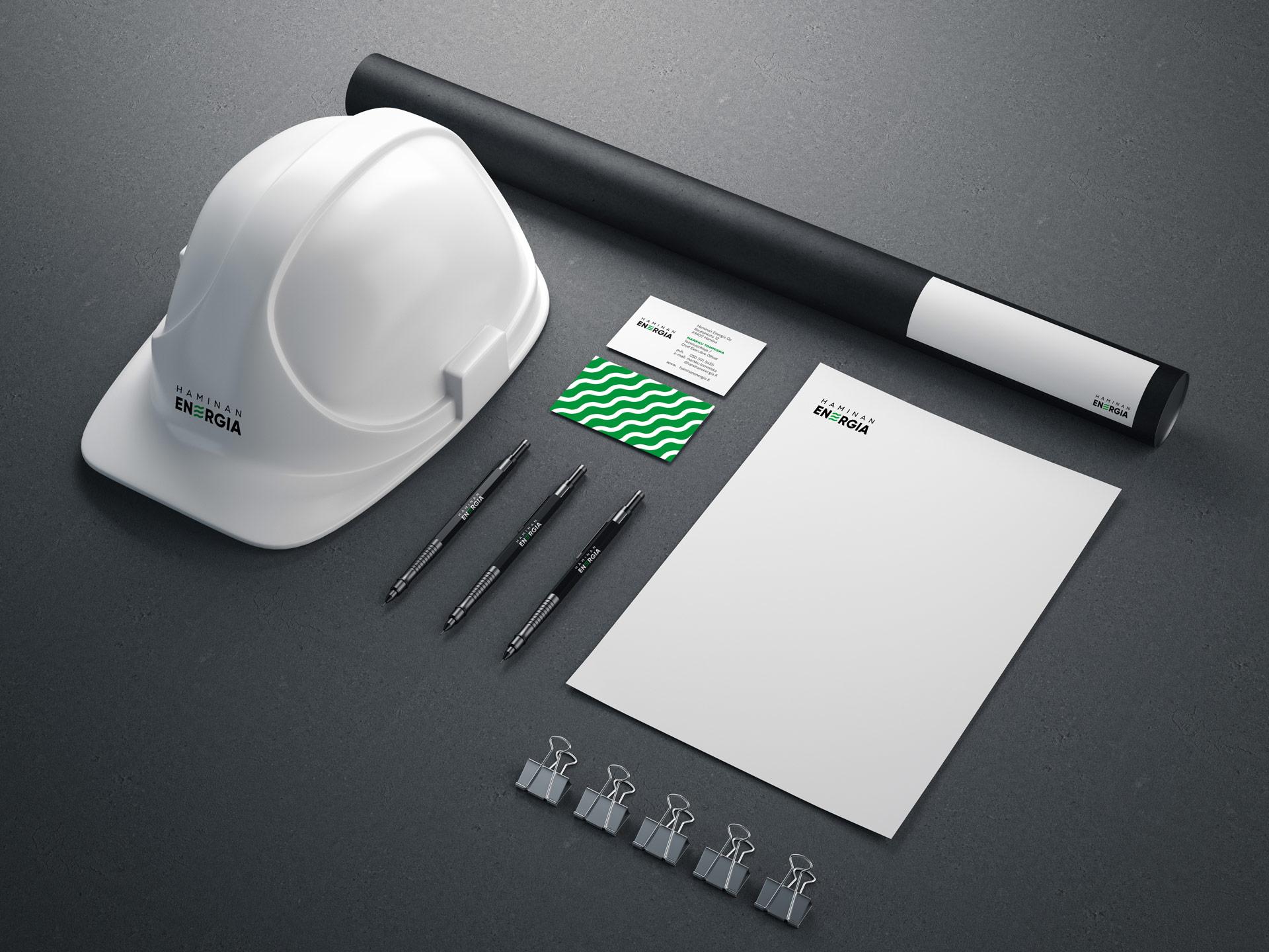 Haminan Energia Oy, Yritysilmeen suunnittelu