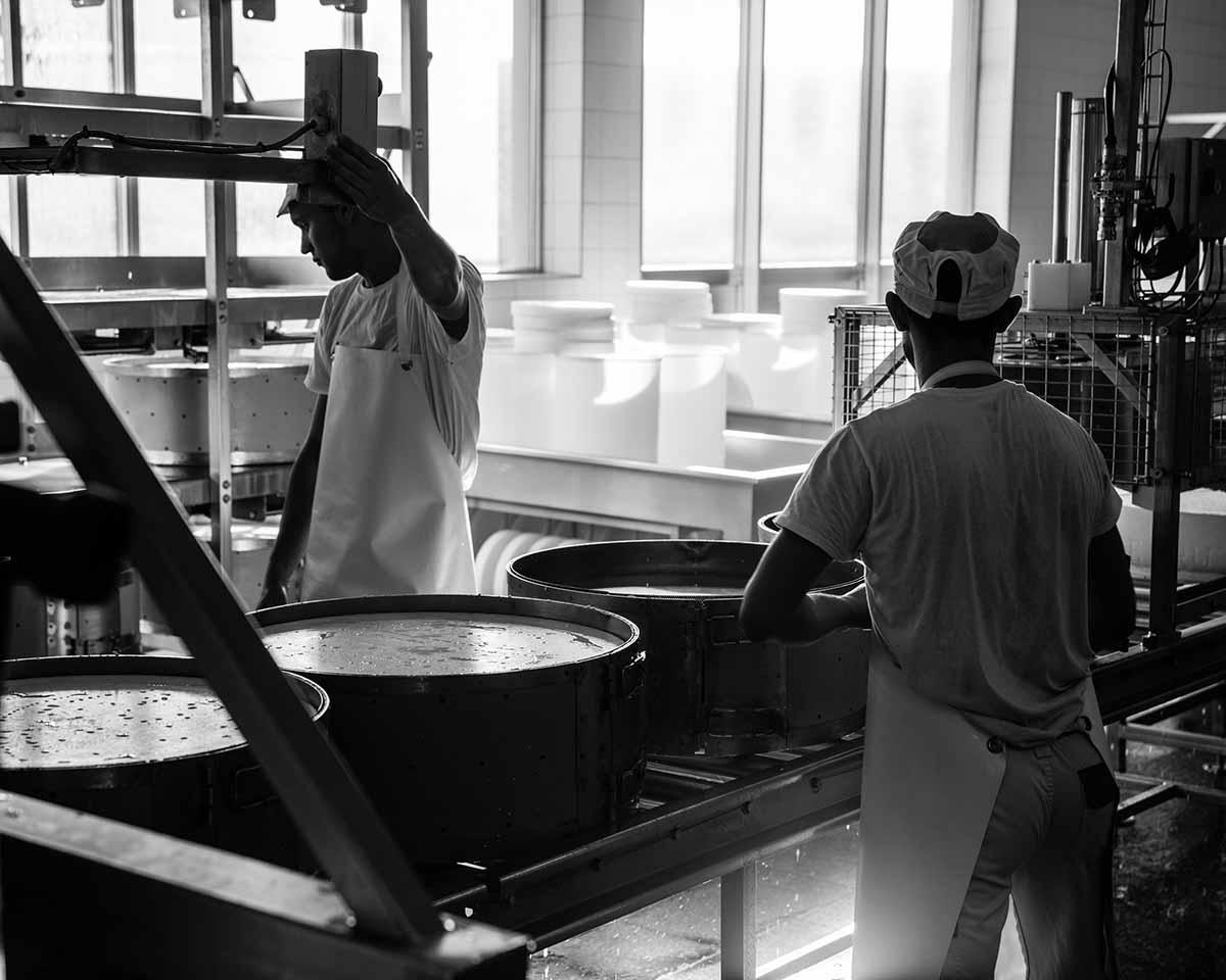 gruyere making process